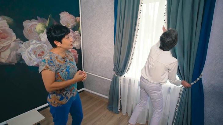 «Вкось и вкривь, из дешевого материала, но хозяйка и этому рада»: наконец-то «Идеальный ремонт» у пенсионерки